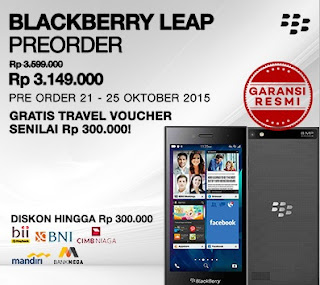 Promo Preorder Blackberry Leap