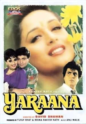 Yaraana 1995 Hindi Movie Watch Online