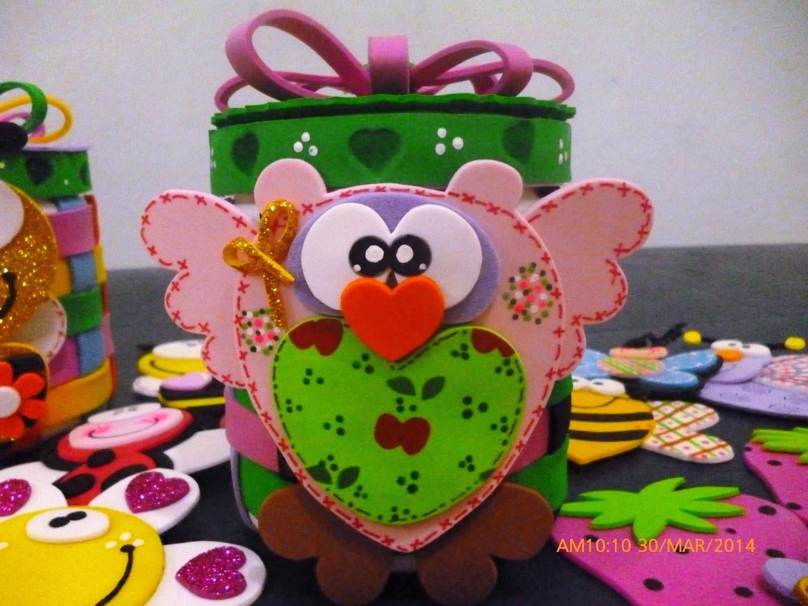 Cuchituras manualidades envases multiusos bichitos cuchi for Envases de vidrio decorados