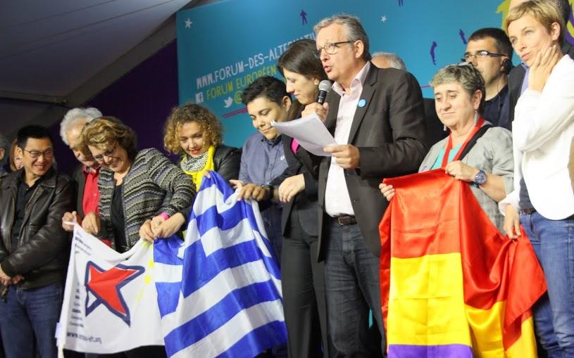 Appel du Forum Européen des Alternatives