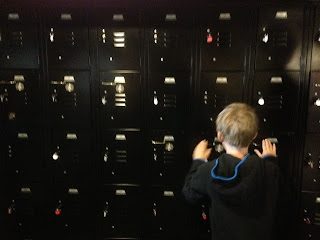 Exploratorium musical lockers