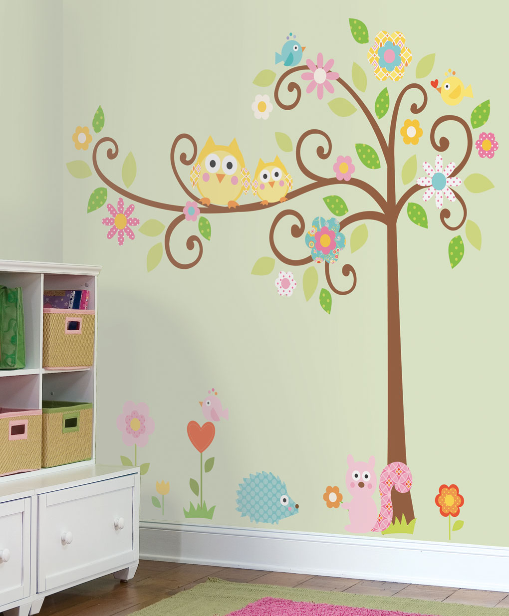 Wall decals kids art wall decor for Mural kids room