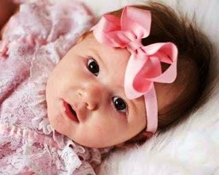 foto anak bayi perempuan lucu sejagat raya