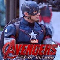 """La Viuda Negra y el Capitán América en el rodaje de """"Los Vengadores: La Era de Ultron"""""""