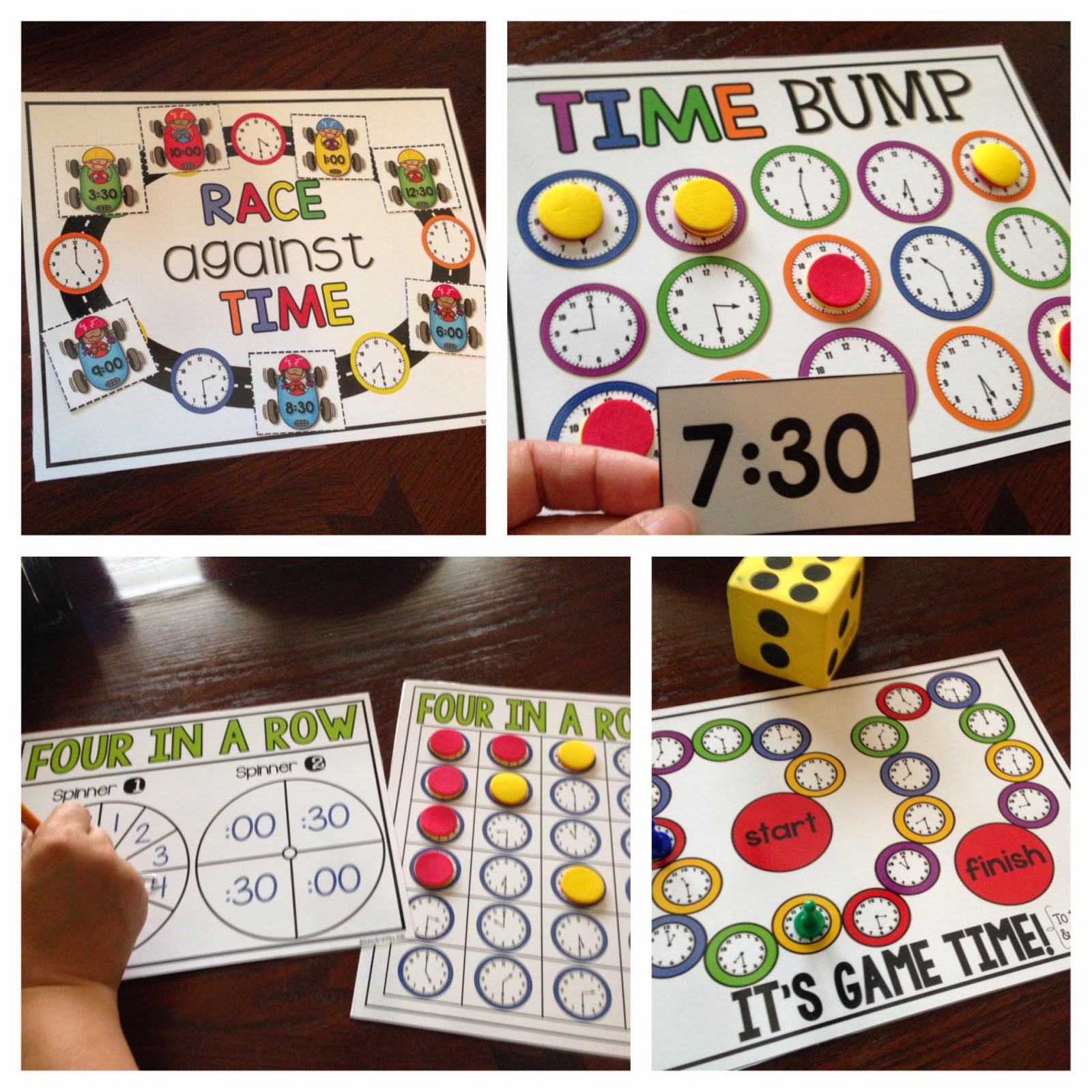 Crazy for First Grade: Let's Practice Telling Time! {with free ...