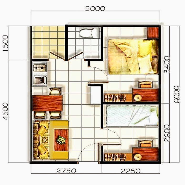 2015 Gambar desain rumah minimalis modern sederhana