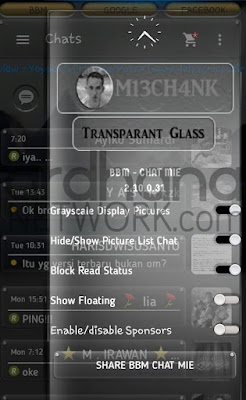 Preview BBM Chat Mie V2.10.0.31