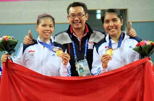 Greysia Polii-Nitya Krishinda raih medali emas di Asian Games 2014
