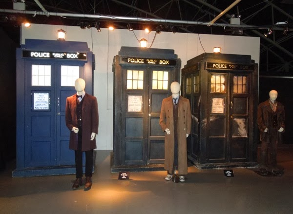 Doctor Who Day of the Doctor costume TARDIS exhibit