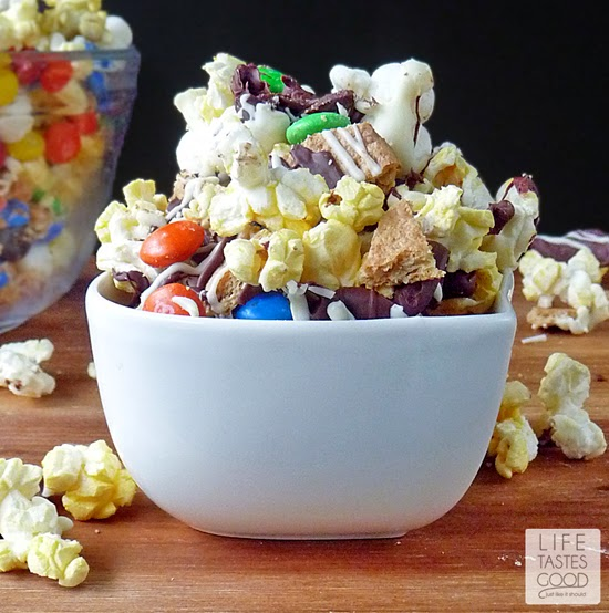 S'mores Popcorn #MovieNight4Less