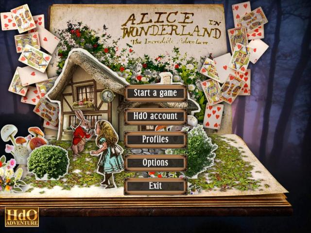 alice in wonderland adventure game online