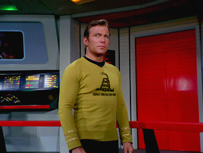 Captain Kirk, Dont Tread on Me