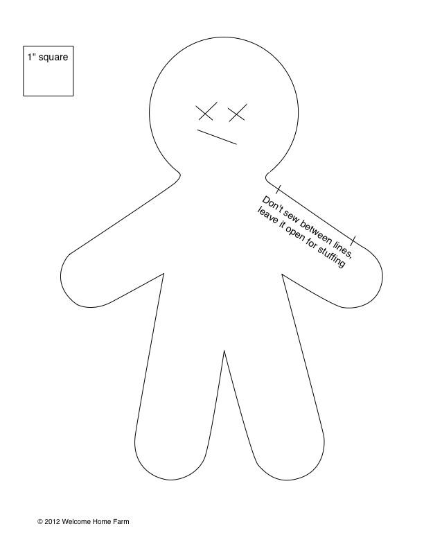 Как сделать куклу шаблоны