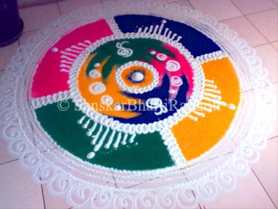 Sanskar Bharti Rangoli - Sanskar Bharti Rangoli