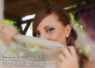 Make Up Sposa - Bridal Make Up - Trucco occhi castani nocciola cervone sposa - arancio - oro - rame - ruggine - pesca - Marrone - Grigio - Salmone - Nudo - Nude look - Make Up For Ever - Mufe - HD foundation - HD Powder - Romantic Glamour look - Brown - Peach - Grey - gold - orange - false lashes - ciglia finte - pencil techique