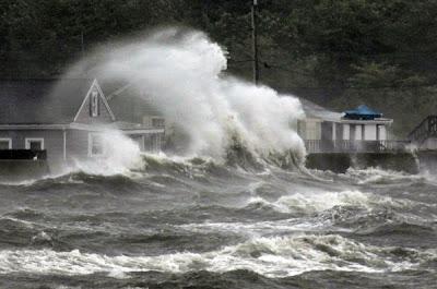 Hurrikan IRENE: 25 der besten und gleichzeitig erschreckendsten Fotos, 2011, Hurrikansaison 2011, Hurrikanfotos, Sturmschäden, Irene, US-Ostküste Eastcoast, USA, August,