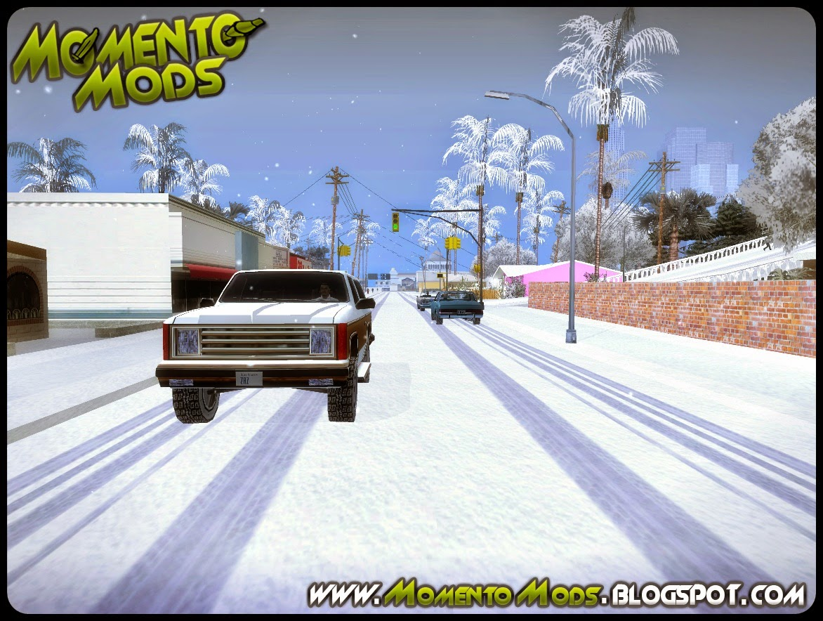 GTA SA - Total Conversion Pack De Natal