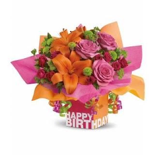 Order A Rosy Birthday Present