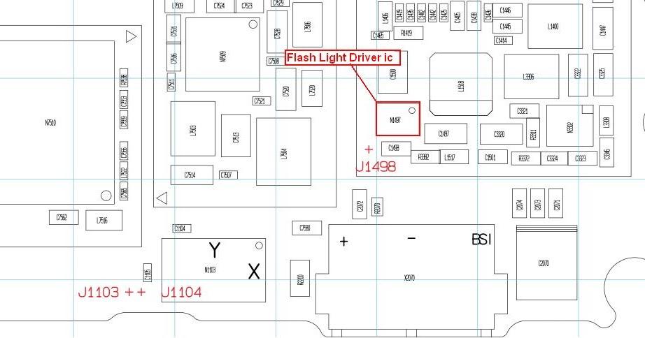 nokia c7 camera flash light ic problem solutions