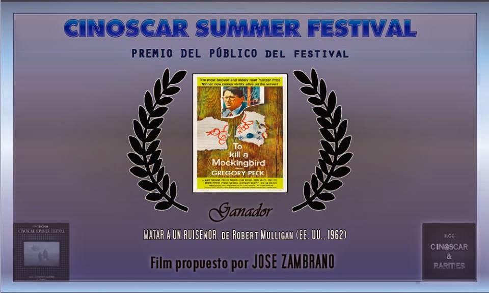 Premio del público del Cinoscar Festival Summer