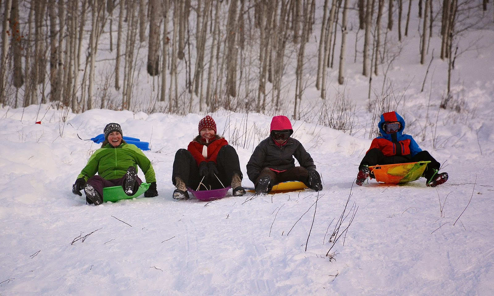 Sledding Colorado