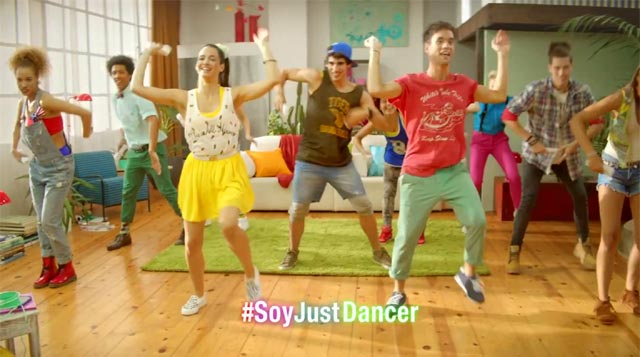 Bailando con Just Dance 4