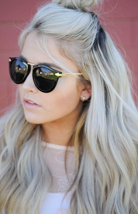 temporada llena de estilos muy diferentes para cada tipo de mujer. Considera las siguientes imágenes de Modernos Peinados Semirrecogidos Otoño,Invierno