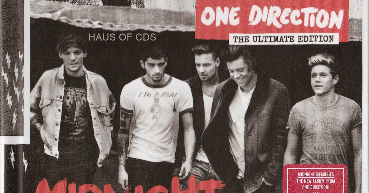 hausofcds one direction midnight memories the ultimate