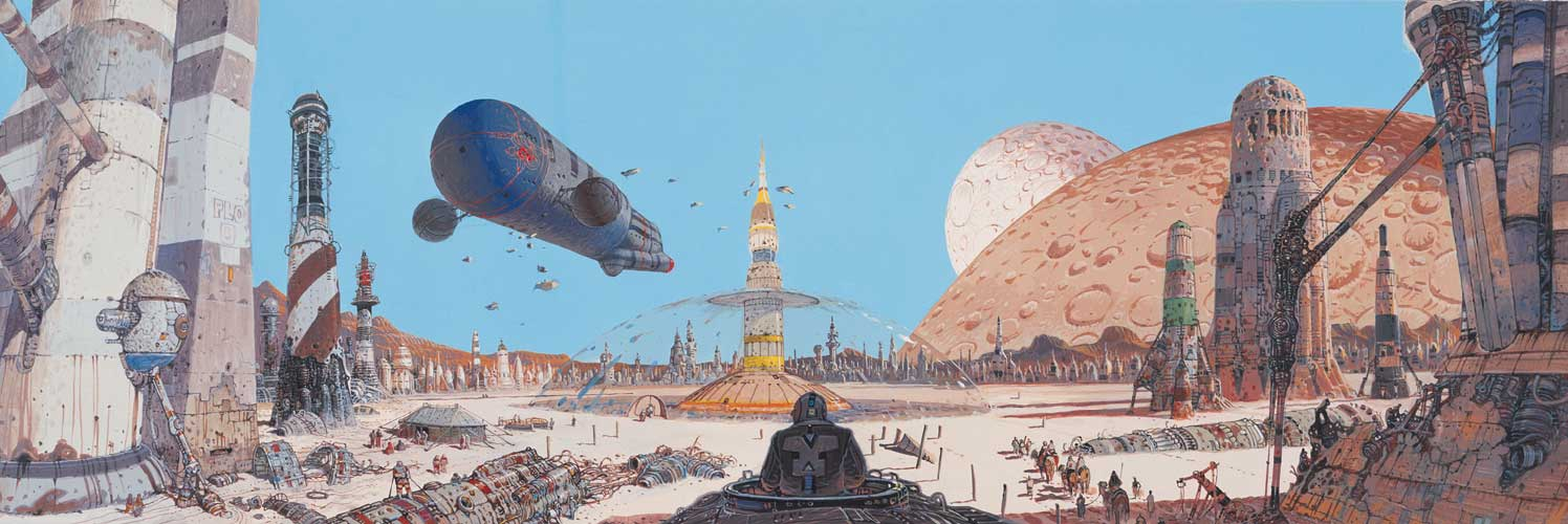 JRC-1138 (moifs primary blog): Artist of the Month; MOEBIUS