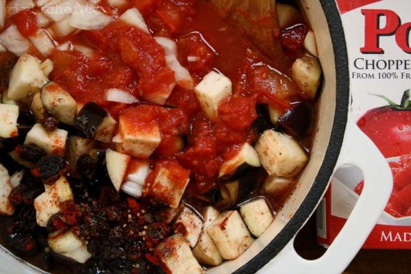 Smoky Tomato-Eggplant Chutney | www.girlichef.com