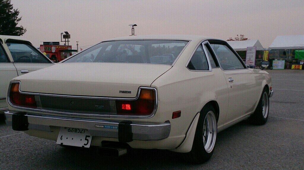 Mazda Cosmo AP, fastback, stare samochody, kultowe modele, auta z duszą, zdjęcia