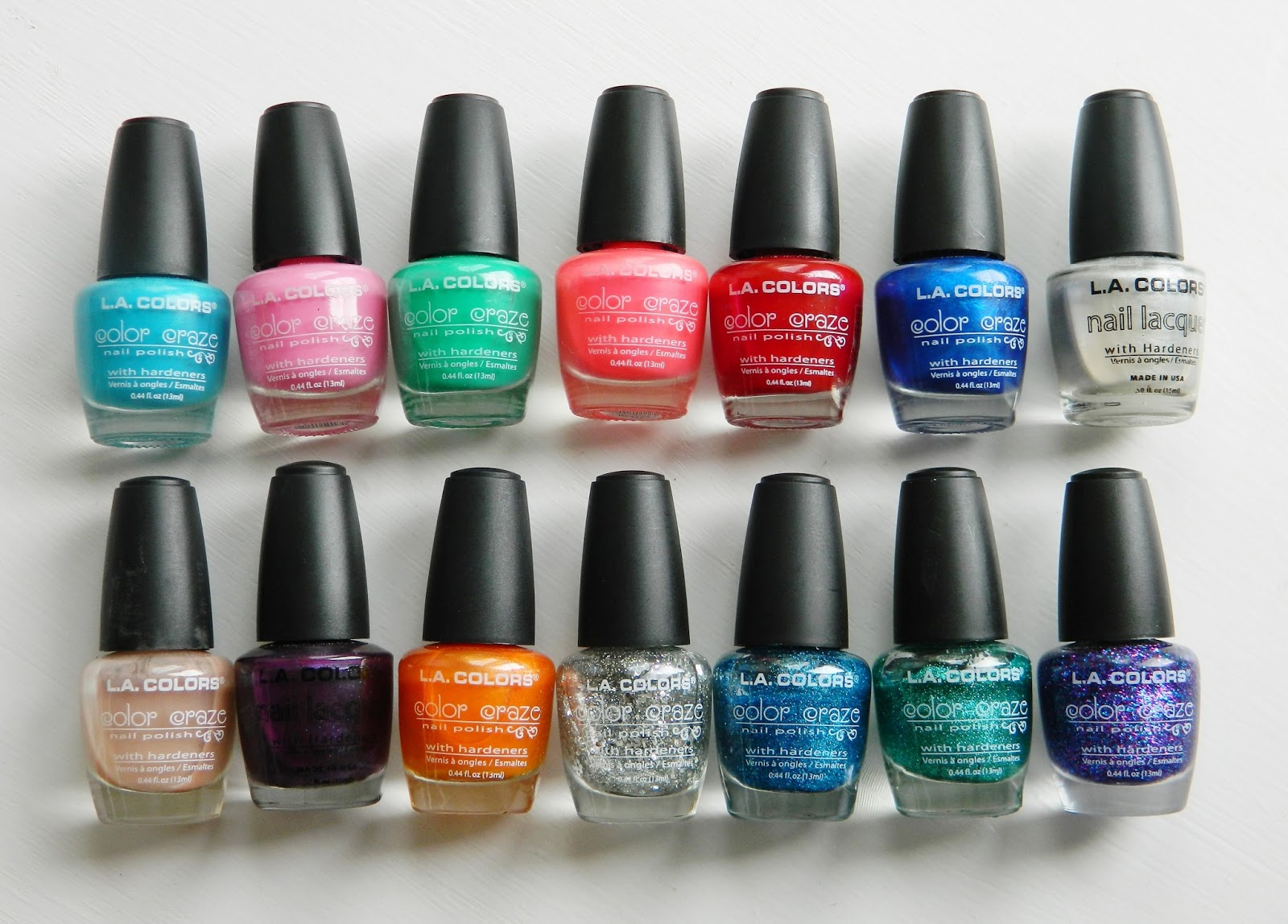 Spotlight: LA Colors Nail Polish Review and Swatches / Kiran Reveur