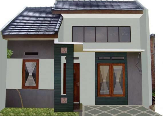 Gambar Desain Rumah Minimalis Modern Tipe 36