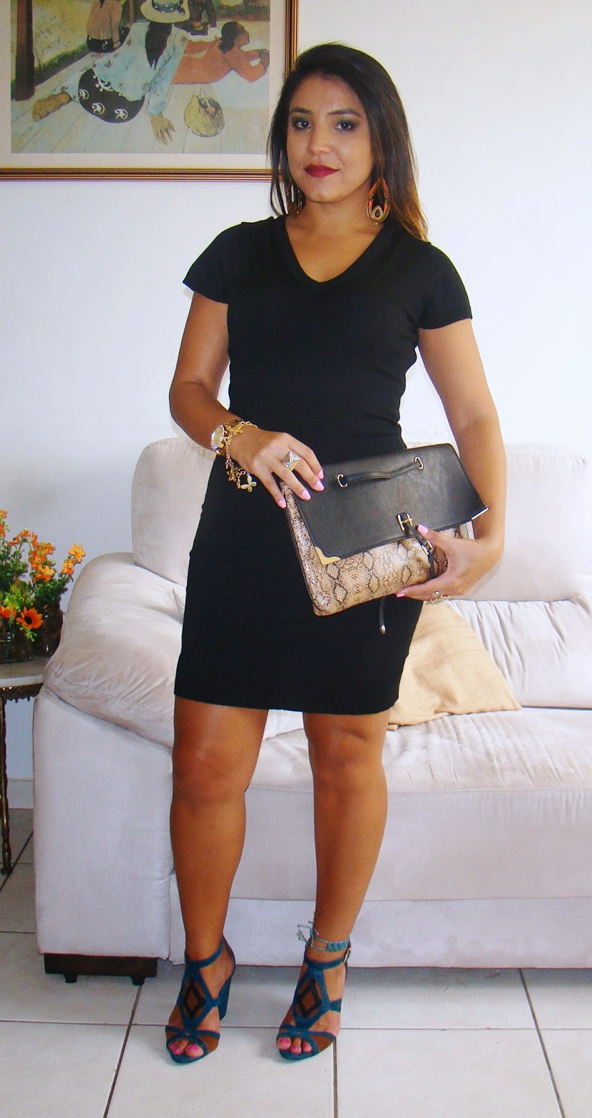 Look do dia: Vestido preto