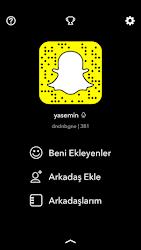 Snapchat'teyim