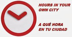 Schedule / Horario