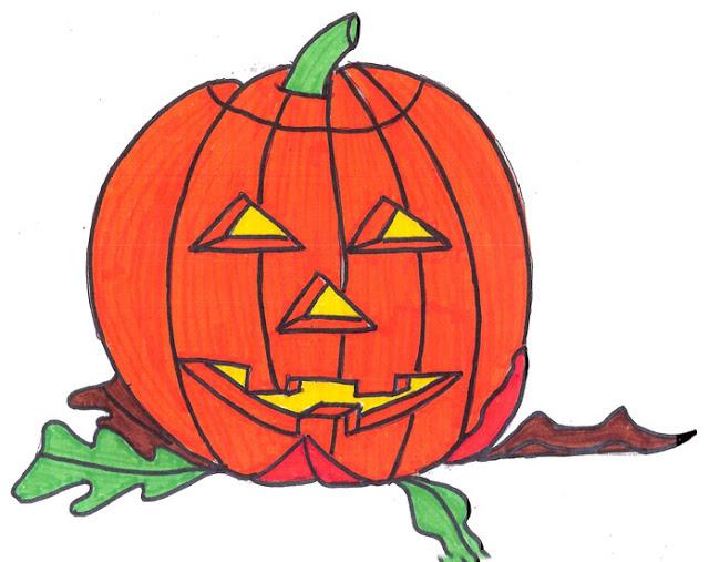 drawing tutorial halloween pumpkin ages 5 7 artist stephanie