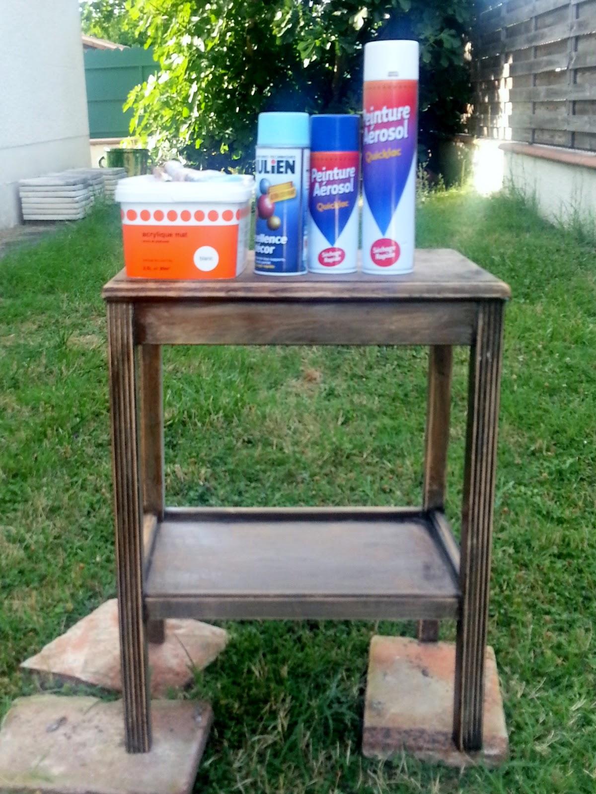 Pintar con aerosol diy soy un mix for Pintar muebles con spray