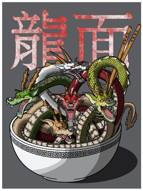Dragon Noodles on Redbubble