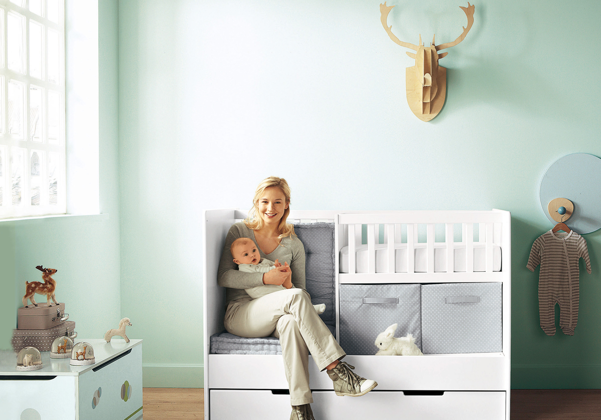 Cool baby nursery design ideas interior decorating home for Baby cot decoration ideas