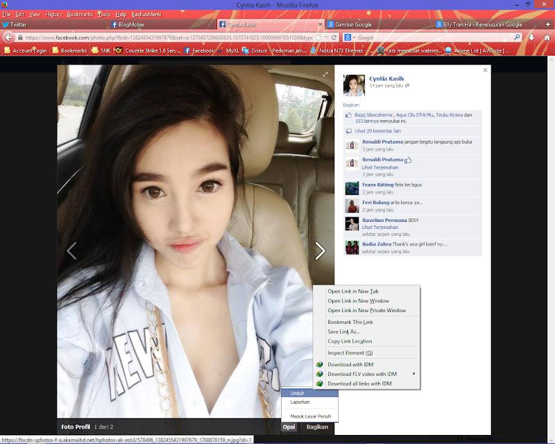 Cara Mengetahui Foto Profil Facebook Asli Atau Palsu