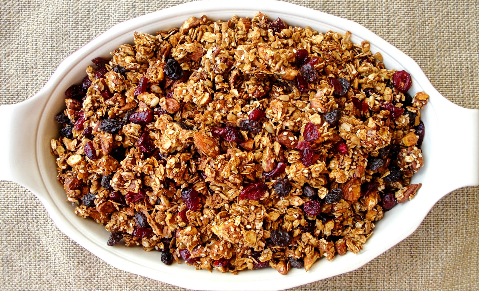 granola to face forever and ever homemade granola recipe slightly ...