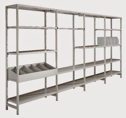 montaggio e smontaggio di scaffalature metalliche