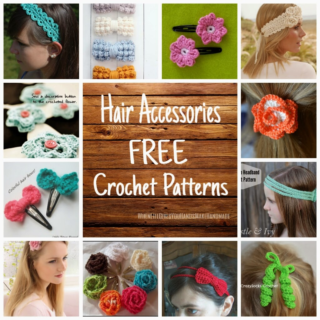 Crochet Hair Accessories Patterns : hairpin lace crochet hairband headband click here for pattern crochet