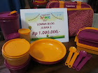 "2nd Winner Blog Competition ""Tupperware Home Fair"""
