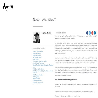armadigital net - neden web sitesi