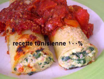 Recette Les Cannellonis ricotta-épinard