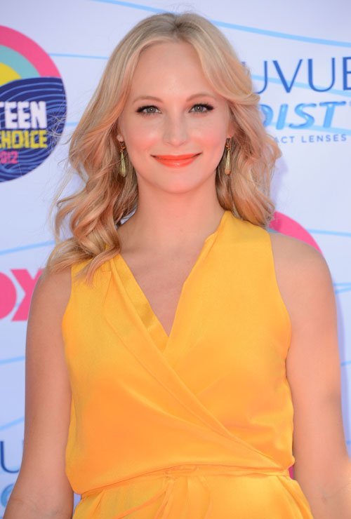 Candice Accola's 2012 Teen Choice Arrival » Gossip | Candice Accola