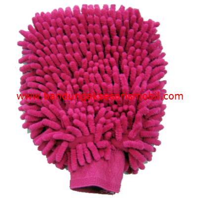 Sarung Tangan Berbulu Pink