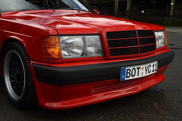 190e red